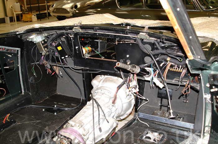 Wired ready to install the dashboard. We routinely fit new looms